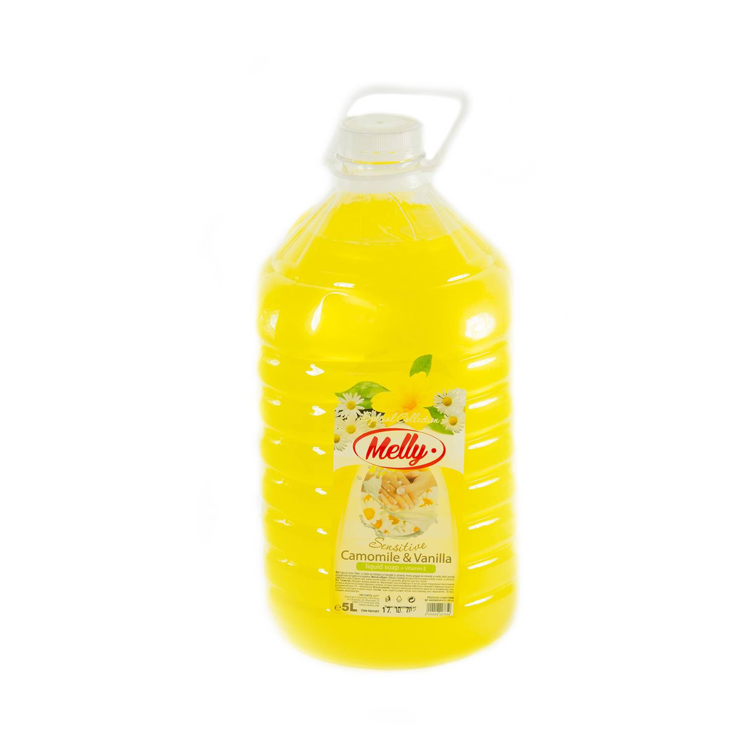 Sapun lichid Melly, 5000 ml, romanita-vanilie