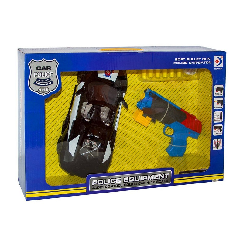 "Set p/u copii cu pistol si masina ""Police Equipment"", cod 03092"