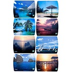 Mouse Pad SVEN UA (8 pictures), 230x180x2.35mm, polypropylene + foamed plastic